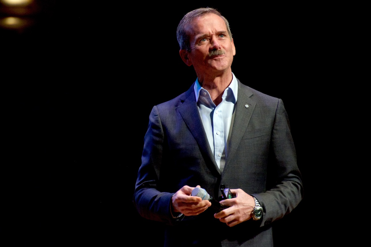 Chris Hadfield in Vancouver